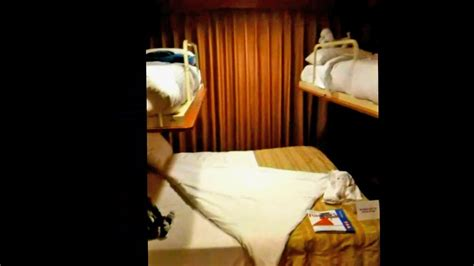 Carnival Fascination Balcony Stateroom M233 With Two