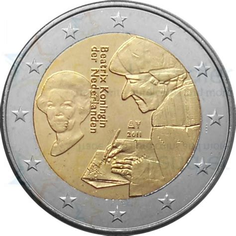 Netherlands 2 euro 2011 - 500th Anniversary of The Praise