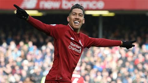 Football: Liverpool upbeat over Firmino's fitness to face