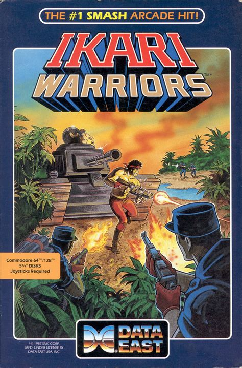 Ikari Warriors for Commodore 64 (1986) - MobyGames