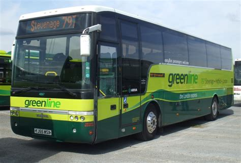 IAN'S BUS STOP: Arriva's DAF Greenline Coaches