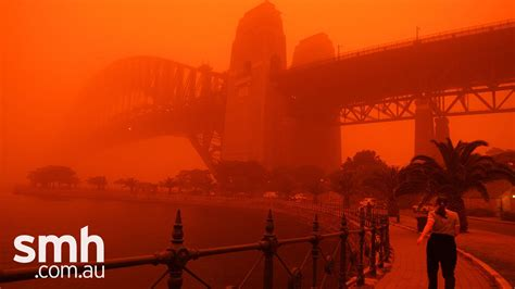 Rare dust storm turns Sydney red - YouTube
