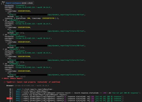 testing - TestCafe RequestLogger - How to wait for all