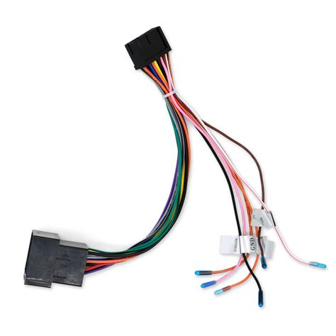Car Stereo Radio ISO Wiring Harness Connector Power Cable