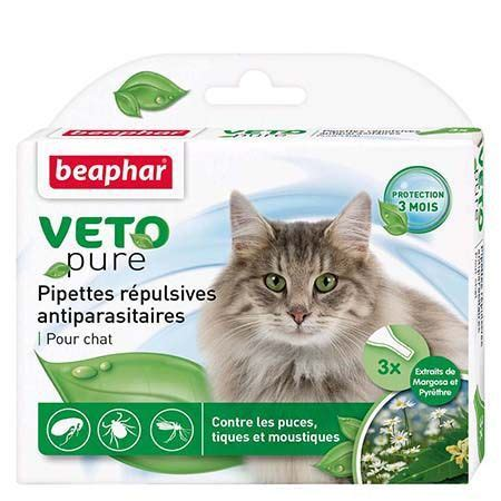 PIPETTES ANTIPARASITAIRES CHAT - k-nifelie