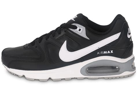 Nike Air Max Command Cuir noire - Chaussures Baskets homme