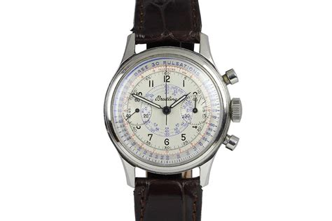 1945 Breitling Chronograph Watch For Sale - Mens Vintage