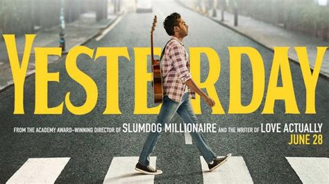 Danny Boyle's 'Yesterday' movie trailer launched