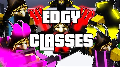 Critical Strike Adventures: Edgy Classes   ROBLOX - YouTube