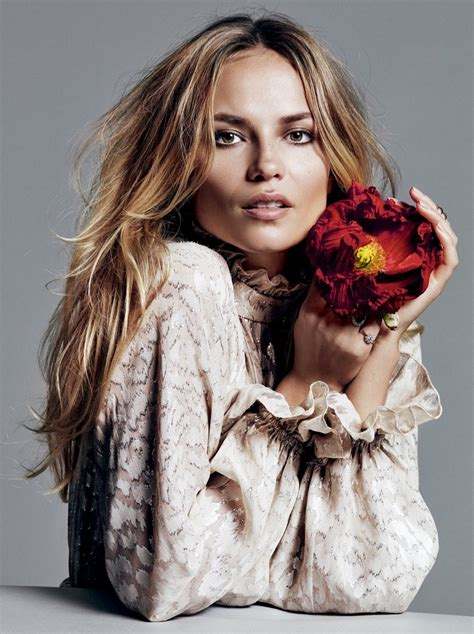 Natasha Poly Gets Super Luxe for Glamour Russia Editorial