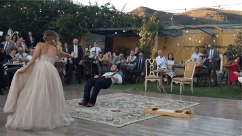 This Bride Literally Put A Spell On Her New Husband During