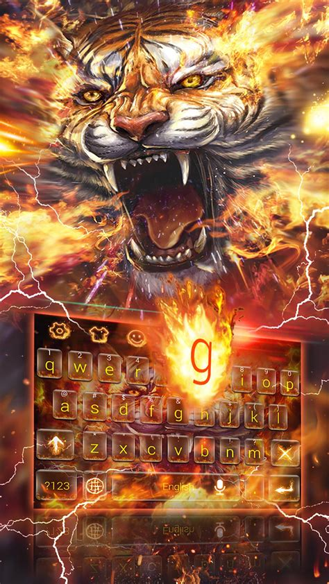 Roar Tiger Keyboard Theme for Android - APK Download