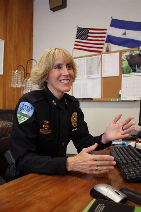 Forest Grove Police Chief Janie Schutz becomes first woman