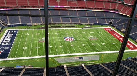 The field in Houston for Super Bowl LI looks absolutely