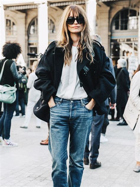 The Most Fashionable Over-40 French Women   Who What Wear