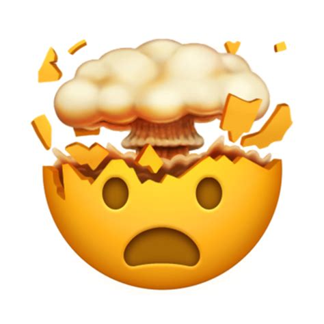 Exploding head   All the new emojis just added to the